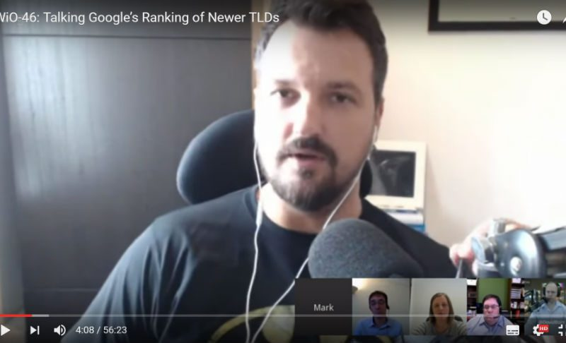 TWiO-46: Talking Google's Ranking of Newer TLDs, Bing News PubHub, Microsoft's purchase of LinkedIn & Facebook Live