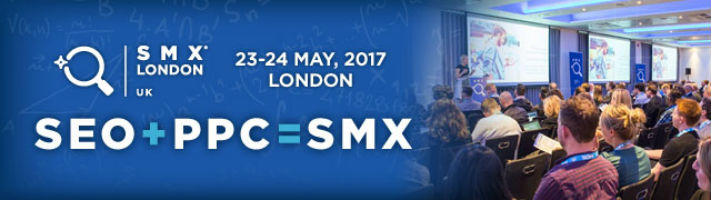 Get 15% off your SMX London ticket!