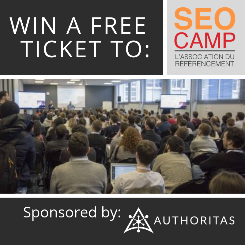 Win a free ticket so seo camp