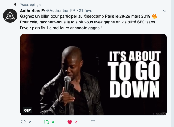 Authoritas SEO & Content Marketing Software - SEO Camp Paris 2019