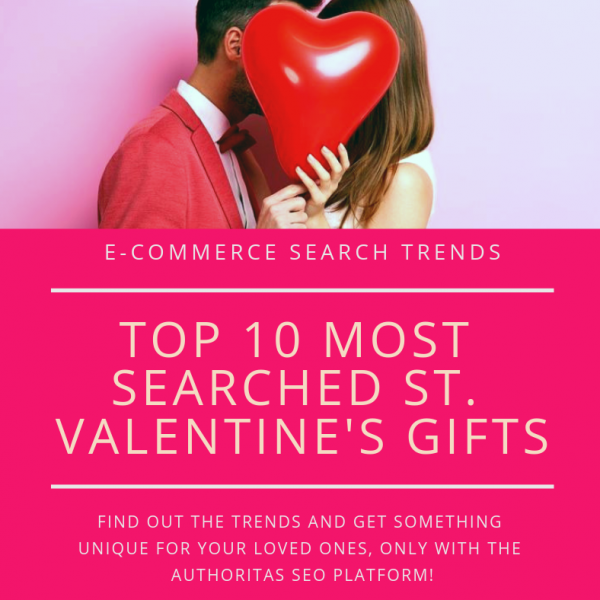 Ecommerce valentines search trends
