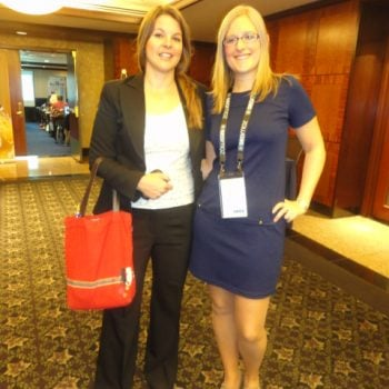 Gemma and SEO Jo in 2012 - International Search Summit NYC