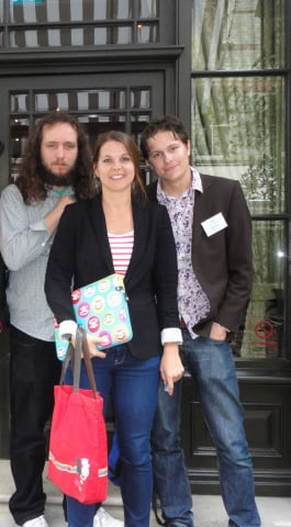Kevin Ellen, Lukasz and SEO Jo in 2012