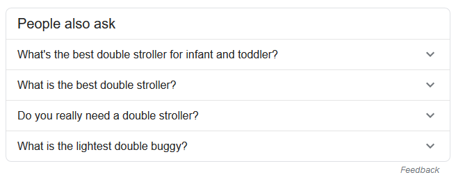 PAA double stroller - Google Search