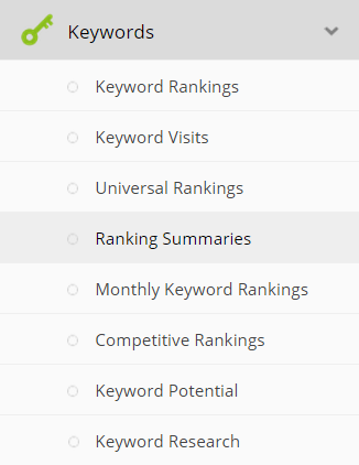 Select 'Ranking Summaries'